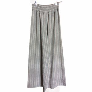 Altar'd State Linen Look Striped Pants